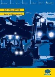 Land Baumaschine Beleuchtung - Technomag AG