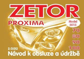 Proxima 2012 CZ.pdf - CALS servis sro