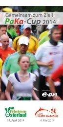 Ausschreibung PaKa Cup 2014 - Kassel Marathon