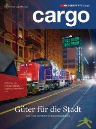 Cargo Magazin 1 / 2014 - SBB Cargo