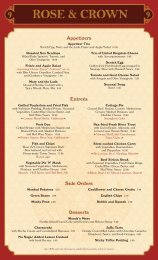 Side Orders Appetizers Entreés Desserts - Wdwspanish.com
