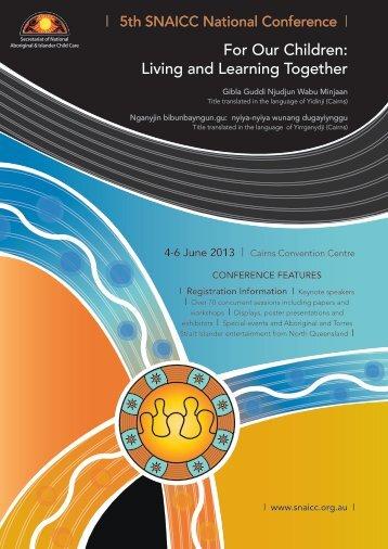PDF 7MB - Secretariat of National Aboriginal and Islander Child Care