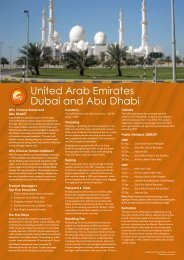United Arab Emirates Dubai and Abu Dhabi - Tempo Holidays