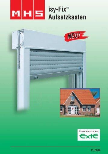 isy-Fix ® Aufsatzkasten - Behr GmbH