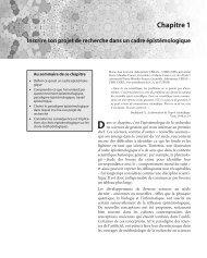 Chapitre 1 – Inscrire son projet de recherche dans - Pearson