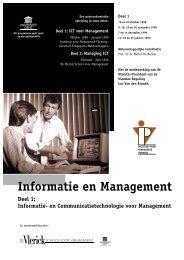 Informatie en Management - Instituut voor Permanente Vorming
