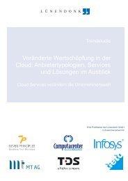 Veränderte Wertschöpfung in der Cloud ... - Computacenter
