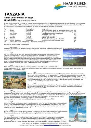 zum Weiterlesen/PDF-Datei - haas reisen