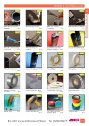 Tapes & Adhesives Chapter 1 - Anixter Components