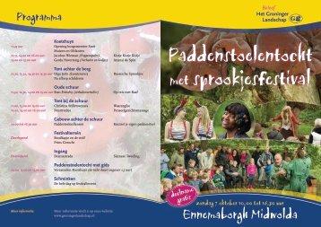 Programma - Stichting Het Groninger Landschap
