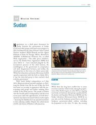 Sudan - Center on International Cooperation