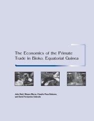The Economics of the Primate Trade in Bioko, Equatorial Guinea