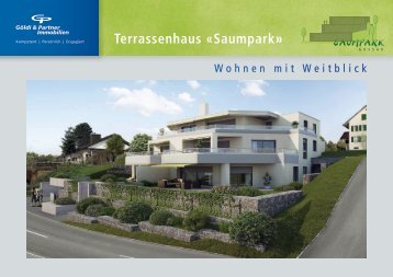 Terrassenhaus «Saumpark» - Göldi & Partner Immobilien