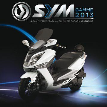 Catalogue Gamme Sym 2013