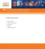 VBS. Flange clamp systems - getel.gr