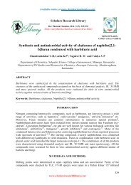 Synthesis and antimicrobial activity of chalcones of naphtho[2,1- b ...