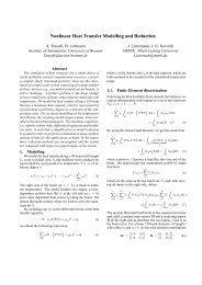 Nonlinear Heat Transfer Modelling and Reduction