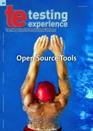 Open Source Tools - Testing Experience