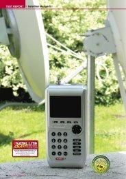 TEST REPORT Satelliten Meßgerät