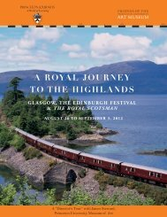 a royal journey to the highlands - Alumni Association of Princeton ...