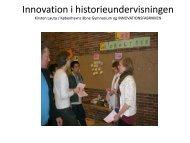 Innovativ undervisning