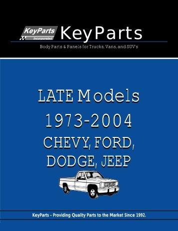 Chevy - Walker Autoparts