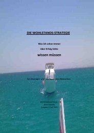 Die WOHLSTANDS-STRATEGIE ... was sie schon ... - Andreas Tautz