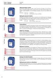 Chemie - Reinigung - Technomag AG