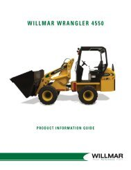 table of contents wrangler 4550 articulated loader - Farm Depot