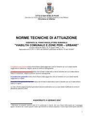 NORME TECNICHE DI ATTUAZIONE - www.sit.sandonadipiave.net ...