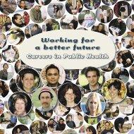 Working for a better future - Toi Te Ora - Public Health Service