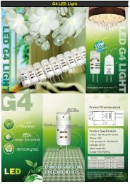 LED G4 Lamp - Melody-lighting.com