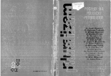 Razni autori Pogledi na politički pluralizam NIP Radnička štampa ...