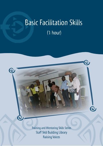 Basic Facilitation Skills - Raising Voices