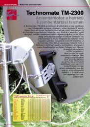 Technomate TM-2300 - TELE-satellite International Magazine