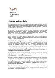 Lisboa e Vale do Tejo - CCDR-LVT