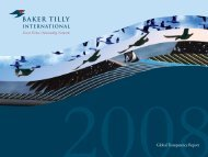Global Transparency Report - Baker Tilly International