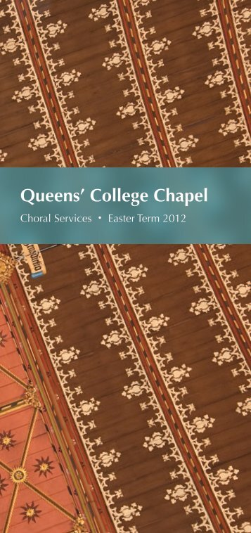 Easter 2012 - College Choir