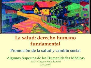 promoción de la salud - Fundación Medicina y Humanidades Médicas