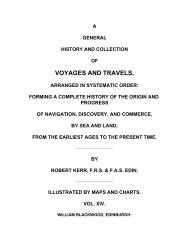 A General History & Collection of Voyages and Travels ... - Nauticus