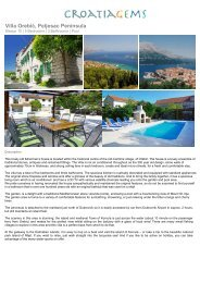 Villa Orebic - CroatiaGems
