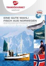 EinE gutE Wahl! Fisch aus norWEgEn - TransGourmet Seafood