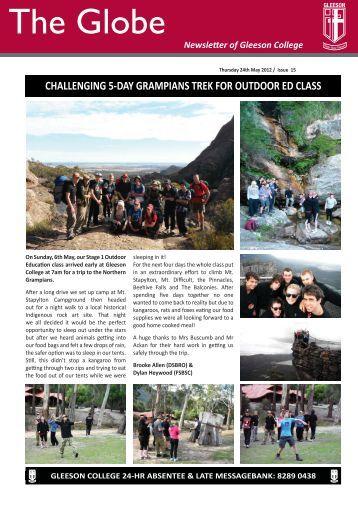 Issue 15 - Gleeson College