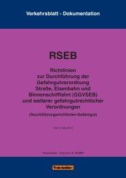 RSEB RSEB - Verwaltungsvorschriften im Internet