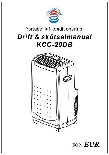 manual • drift- och skötselmanual käyttöohje â