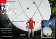 From TV-DXer To Sat-DXer - TELE-satellite International Magazine