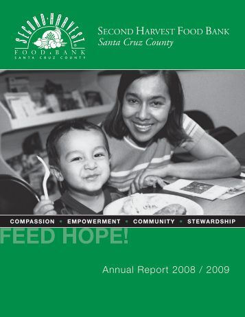 SHFB ANNUAL REPORT 2009_FULL.indd - Second Harvest Food ...