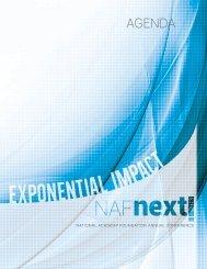 Download the program book here! - NAF Next 2013 - National ...