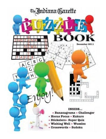 Puzzle Book December 2011_Puzzle Book ... - Indiana Gazette
