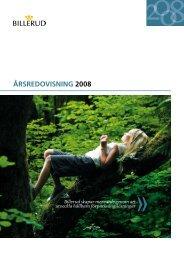 Årsredovisning 2008 - Billerud AB